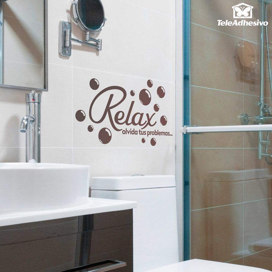 Stickers muraux: Relax, olvida tus problemas