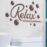 Stickers muraux: Relax, olvida tus problemas 3