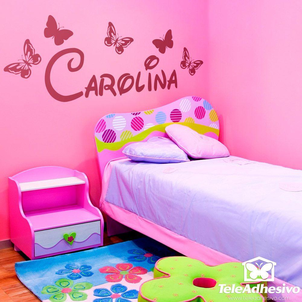 Stickers pour enfants: Personnalisé Papillons 1