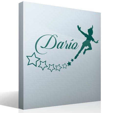 Stickers pour enfants: Personnalisé Peter Pan volant