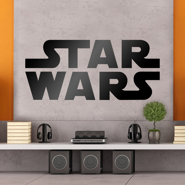 Stickers muraux: Star Wars logo 0