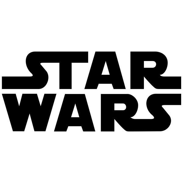 Stickers muraux: Star Wars logo