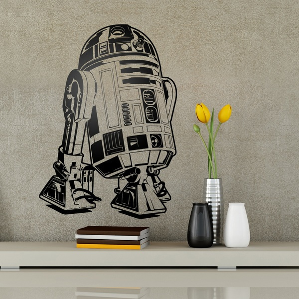Stickers muraux: R2-D2