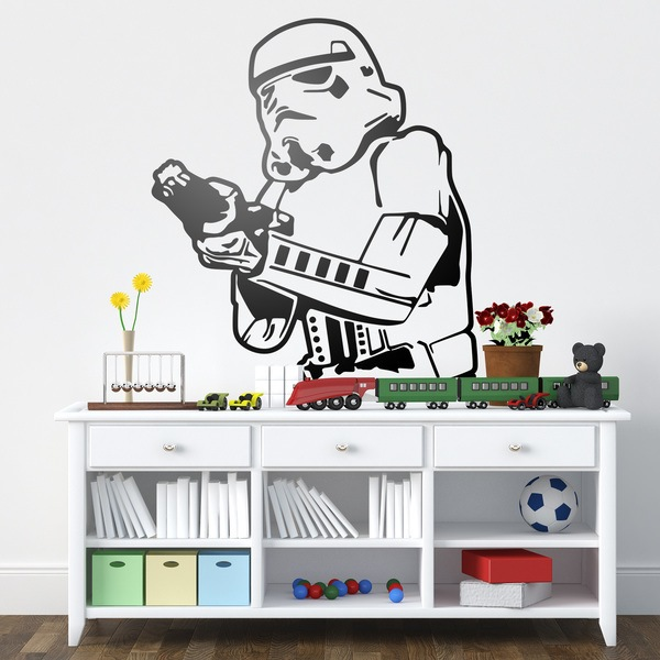 Stickers muraux: Stormtrooper 1
