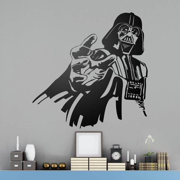 stickers muraux enfants de star wars webstickersmuraux. Black Bedroom Furniture Sets. Home Design Ideas