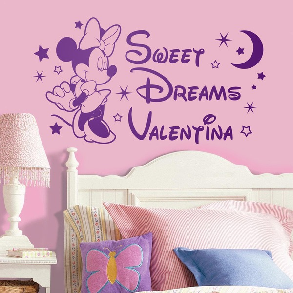 Stickers pour enfants: Minnie Mouse Sweet Dreams