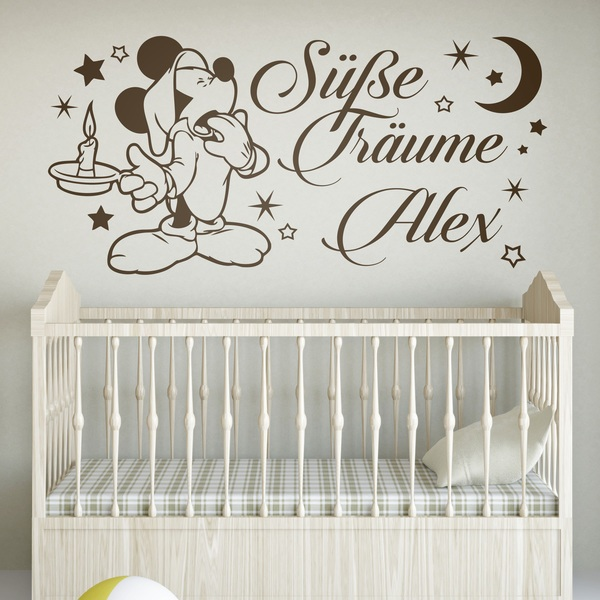 Stickers pour enfants: Mickey Mouse Süße Träume