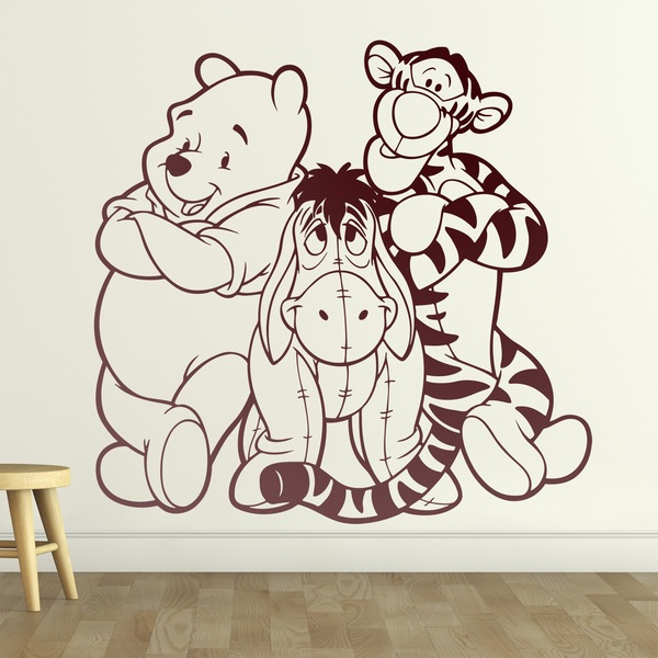 Stickers pour enfants: Winnie l'Ourson