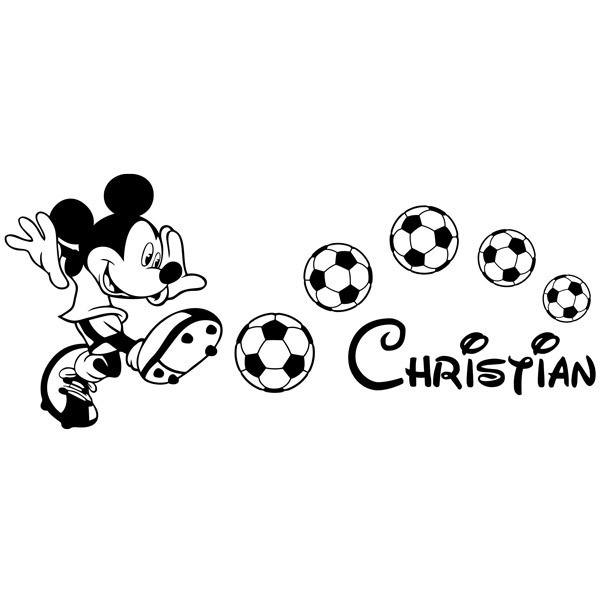 Stickers pour enfants: Mickey Mouse Football 1