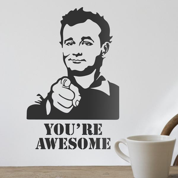 Stickers muraux: Bill Murray