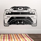 Stickers muraux: Ferrari F430, arrière 3