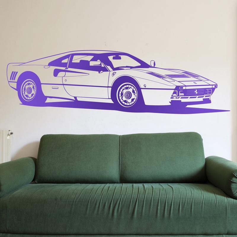 Stickers muraux: Ferrari 288 GTO
