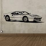 Stickers muraux: Ferrari 288 GTO 3