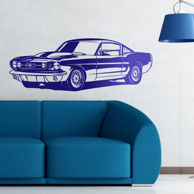 Stickers muraux: Ford Mustang Shelby GT350