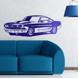 Stickers muraux: Ford Mustang Shelby GT350 - 1966 2