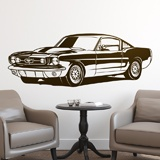 Stickers muraux: Ford Mustang Shelby GT350 3