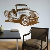 Stickers muraux: Jeep Guerre mondiale II 2