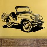 Stickers muraux: Jeep Guerre mondiale II 3