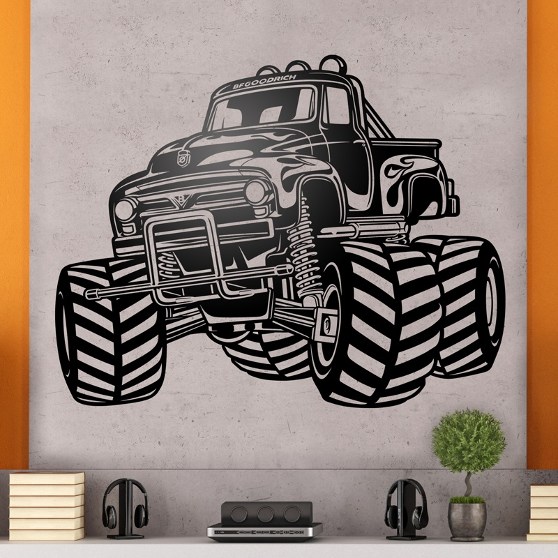 Stickers muraux: Monster Truck BigFoot