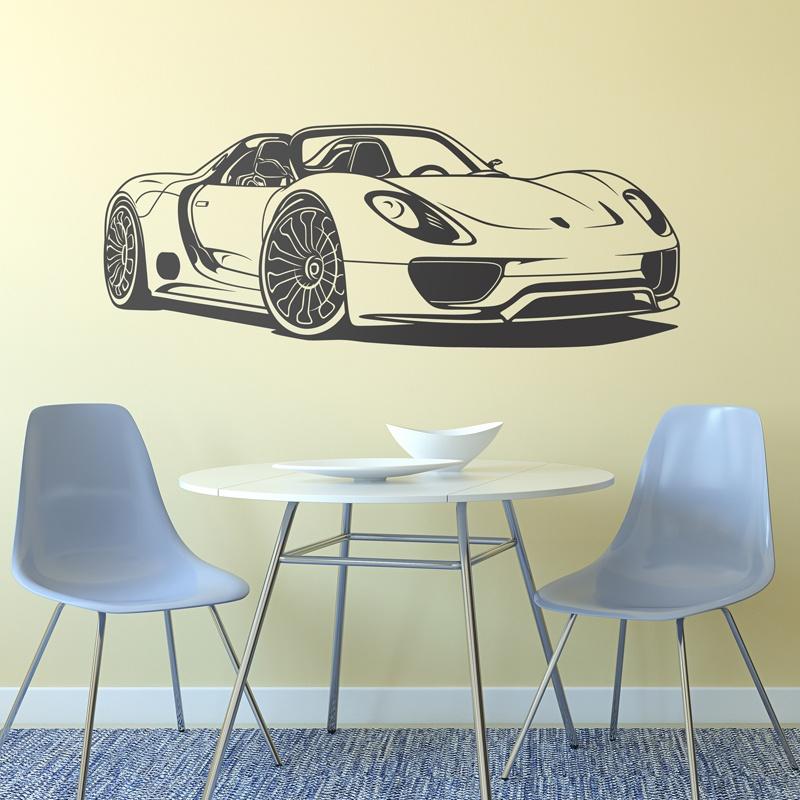Stickers muraux: Porsche 918 Spyder