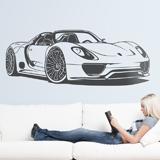 Stickers muraux: Porsche 918 Spyder 3
