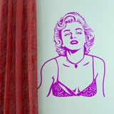 Stickers muraux: Marilyn Monroe 2