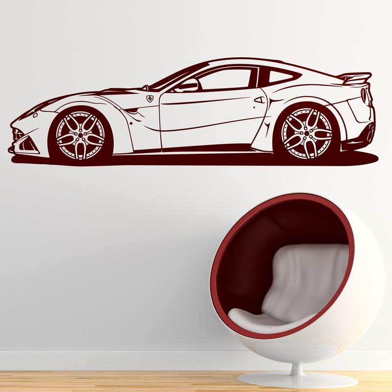 Stickers muraux: Ferrari 599 GTB Fiorano