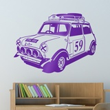 Stickers muraux: Mini Rally Classics années 60 2