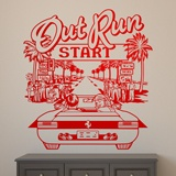 Stickers muraux: Out Run 2