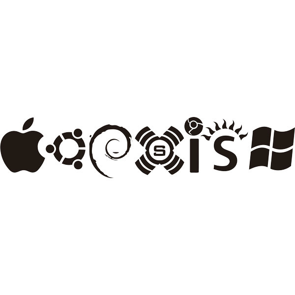 Stickers muraux: Coexist Systèmes Computer