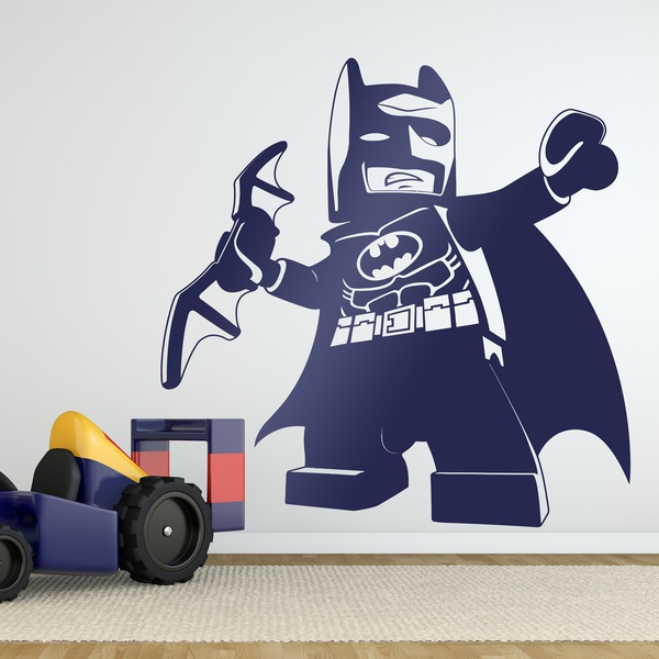 Stickers pour enfants: Figure de Lego Batman