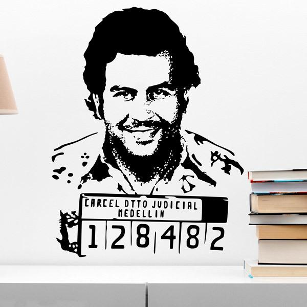Stickers muraux: Pablo Escobar