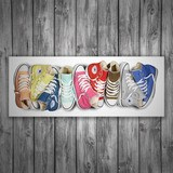 Stickers muraux: Chaussures Converse 3