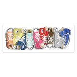 Stickers muraux: Chaussures Converse 4