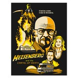 Stickers muraux: Poster adhésif Breaking Bad 4