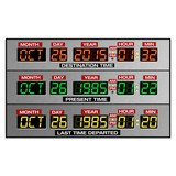 Stickers muraux: DeLorean Time Panel 4