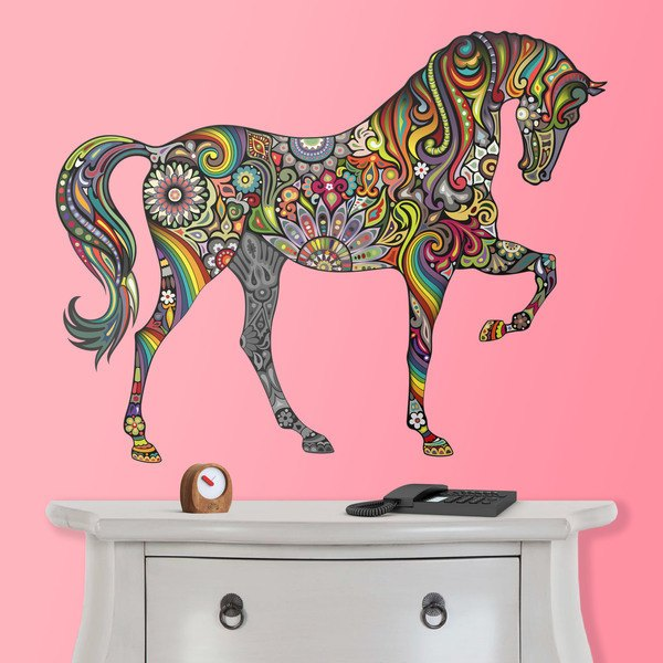 Stickers muraux: Cheval Hindou
