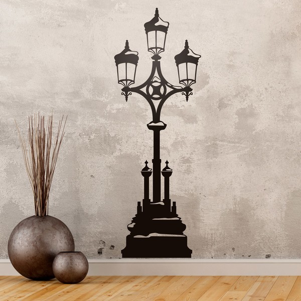 stickers lampadaire simple sticker mural lampadaire mural. Black Bedroom Furniture Sets. Home Design Ideas