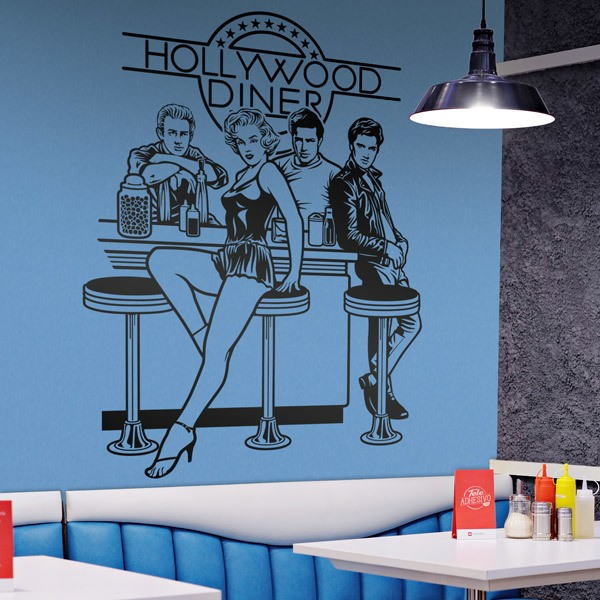 Stickers muraux: Hollywood Diner