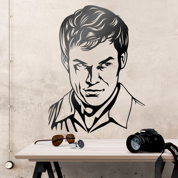 Stickers muraux: Dexter Morgan