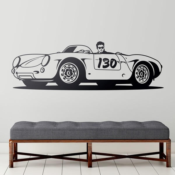 Stickers muraux: Porsche 550 Spyder Little Bastard