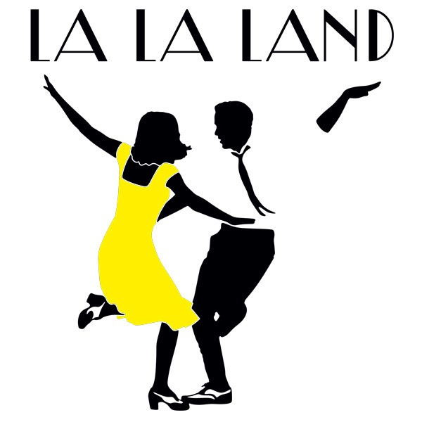 Stickers muraux: Logo La La Land