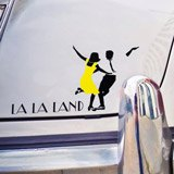 Stickers muraux: Logo La La Land 2