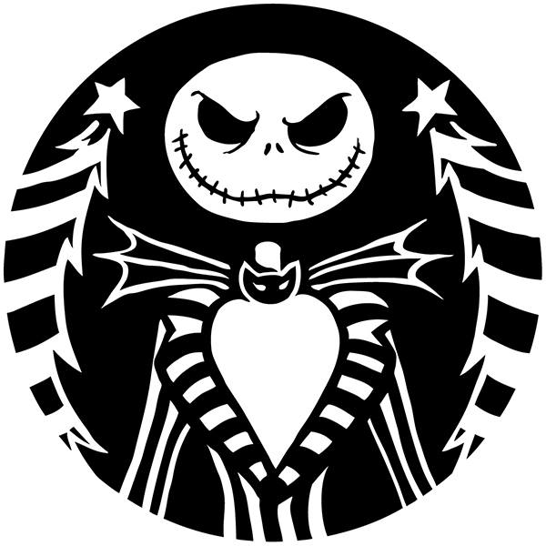 Stickers pour enfants: L'Etrange Noël de Mr. Jack, Jack Skelington