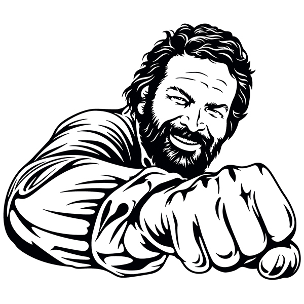 Stickers muraux: Bud Spencer