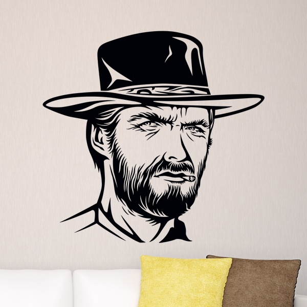 Stickers muraux: Clint Eastwood