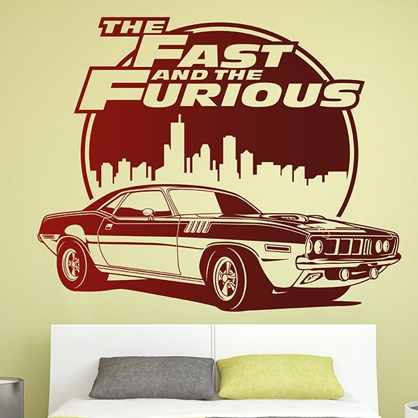 Stickers muraux: The Fast and The Furious 0