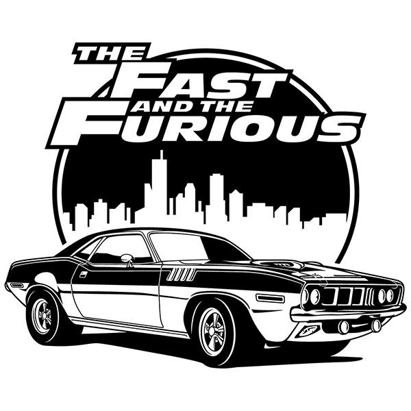 Stickers muraux: The Fast and The Furious