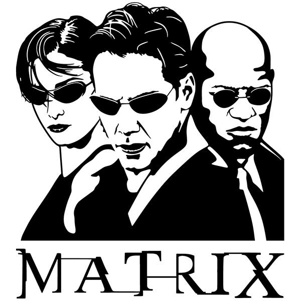 Stickers muraux: The Matrix