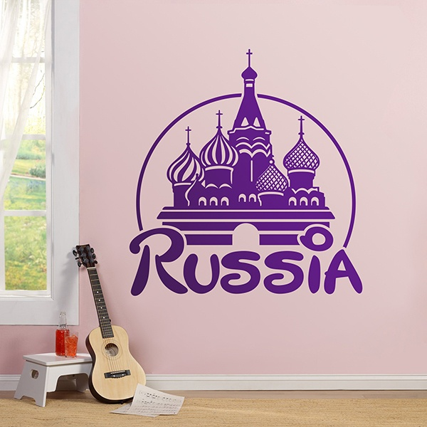Stickers muraux: Russia Disney